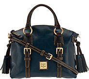 As Is Dooney & Bourke Toledo Leather Domed Satchel - A278917