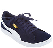 PUMA Suede Lace-up Sneakers - Vikky Classic - A286317
