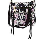 Aimee Kestenberg Nylon Crossbody w/ Leather Trim -Tyler - A289317