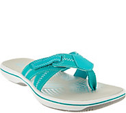 Clarks Adjustable Sport Thong Sandals - Brinkley Calm - A291717