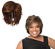 LUXHAIR by Sherri Shepherd Tapered Flip Cut Wig - A292717