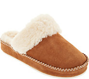 Vionic Suede Slippers - Marley - A293817