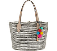 Vince Camuto Braided Rope Tote Handbag - Colle - A304517