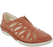 Propet Leather Slip Ons - Cameo - A363817