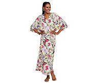 Joan Rivers Social Butterfly Caftan - A233518
