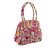 Vera Bradley Signature Print Turn Lock Satchel - A251618