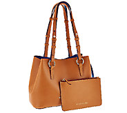 Dooney & Bourke Montecito Leather Small Briana Bag with Pouch - A266618