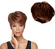 LUXHAIR NOW by Sherri Shepherd Tapered Tomboy Pixie Cut Wig - A270918