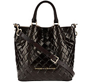 Dooney & Bourke Small Woven Embossed Leather Barlow Satchel - A272218
