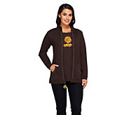 As Is Quacker Factory Charmed Im Sure Jacket and T-Shirt Set - A278118
