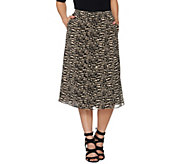 Linea by Louis DellOlio Pull-On Printed Skort - A279518