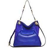 Aimee Kestenberg Pebble Leather Convertible Hobo-Shari - A282318