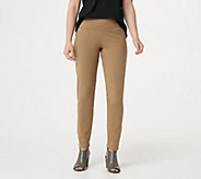 Women with Control Regular Tummy Control Ankle Pants - A286518