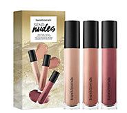 bareMinerals Send Nudes Gen Nude Matte Liquid Lipcolor Trio - A291518