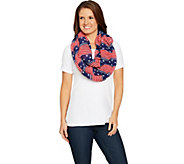 Joan Rivers Patriotic Stars & Stripes Infinity Scarf - A292718