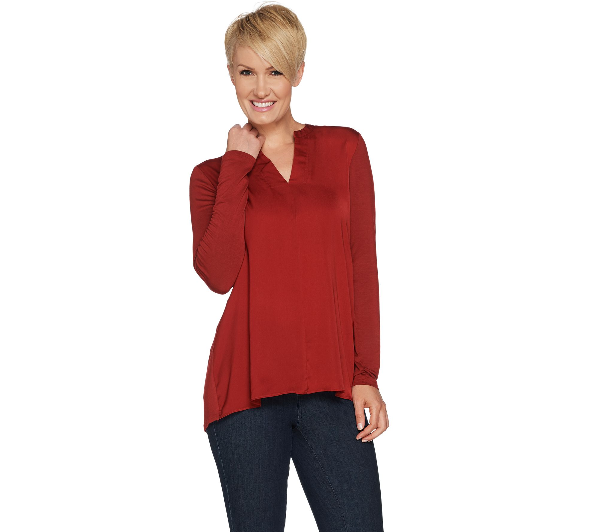 Lisa Rinna Collection — Blouses & Tops — Fashion — QVC.com