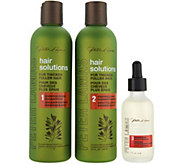 Peter Lamas Hair Solutions 3-Piece Shampoo & Conditioner w/ Scalp Serum - A301418