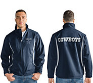 As Is NFL Dallas Soft Shell Bonded Jacket w/Fleece Interior - A306218