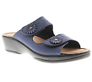 Flexus by Spring Step Faithful Leather Slide Sandals - A332018
