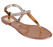 Nomad Jeweled Thong Sandals - Pop Rock - A333218