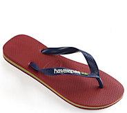 Havaianas Mens Flip Flop Sandals - Brazil Logo - A358018