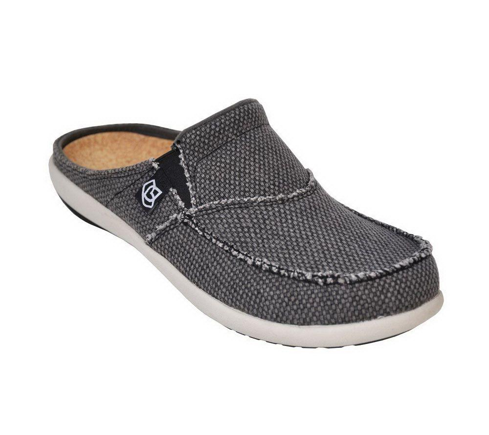Spenco Siesta Slide Orthotic Slip-on Shoes w/ Woven Detail - Page 1 —  QVC.com