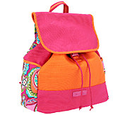 Vera Bradley Canvas Colorblock Backpack - A258419