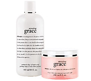 philosophy soft & scented amazing grace duo - A259919