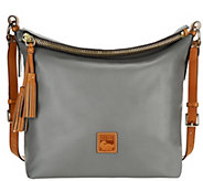 As Is Dooney & Bourke Newbury Leather Dixon Crossbody Bag - A279219