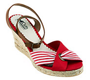As Is Cliffs by White Mountain Sister Espadrille Sandals - A280519