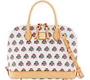 Dooney & Bourke NCAA Ohio State University Zip Zip Satchel - A283219
