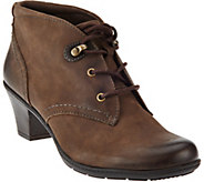 Earth Origins Leather Lace-up Ankle Boots - Devin - A284119