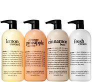 philosophy 4-piece super-size shower gel collection - A285119