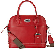As Is Dooney & Bourke Florentine Toscana Domed Satchel - A292419