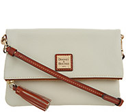Dooney & Bourke Pebble Leather Foldover Zip Crossbody - A292719