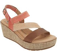 Earth Origins Leather or Suede Wedges - Maxine - A304719
