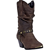 Dingo Leather Boots with Chain Detail - Olivia - A335619