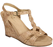 A2 by Aerosoles Core Comfort Wedges - Stone Plush - A335919