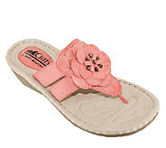 Cliffs by White Mountain Floral Thong Sandals -Crandall - A336519