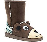 MUK LUKS Kids Teddy Bear Boots - A337419