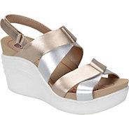 Bionica Nubuck Leather Wedge Sandals - Splendor - A339319