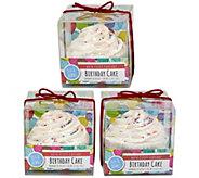 Fizz & Bubble Bubble Bath Cupcakes - Set of 3 - A363319