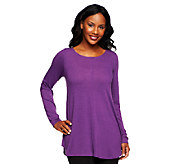 Attitudes by Renee Scoopneck Tunic with Seam Detail - A227120