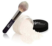 IT Cosmetics Super-Size Airbrush Silk Luminizer with Wand Ball Brush - A236720