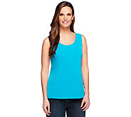 Joan Rivers Luxe Knit Scoop Neck Tank - A252720