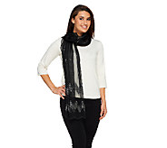 Joan Rivers Shimmering Nights Sequin Scarf - A259020