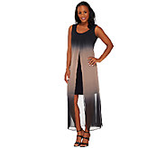 Attitudes by Renee Petite Ombre Chiffon Maxi Dress - A265120