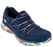 Skechers Mesh Bungee Slip-on Sneakers - Inner Peace - A265520