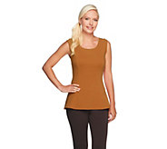 As Is Kathleen Kirkwood Cotton Spandex Swing Cami - A268420