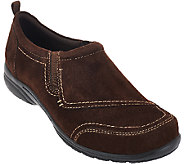 Earth Origins Leather Slip-ons with Double Goring - Dina - A270020